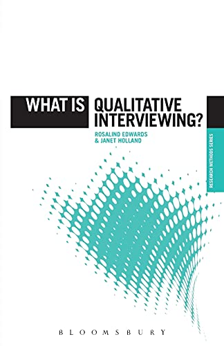 9781849668095: What is Qualitative Interviewing? (The 'What is?' Research Methods Series)