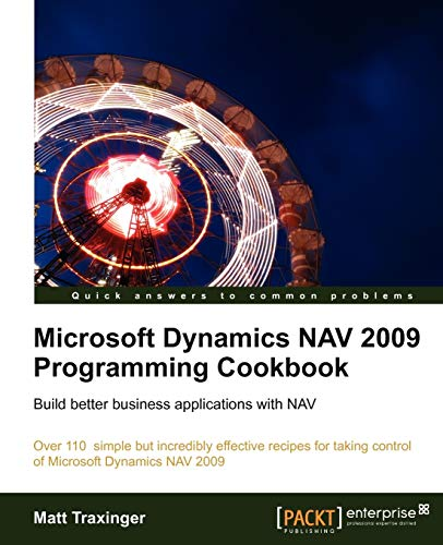 9781849680943: Microsoft Dynamics NAV 2009 Programming Cookbook