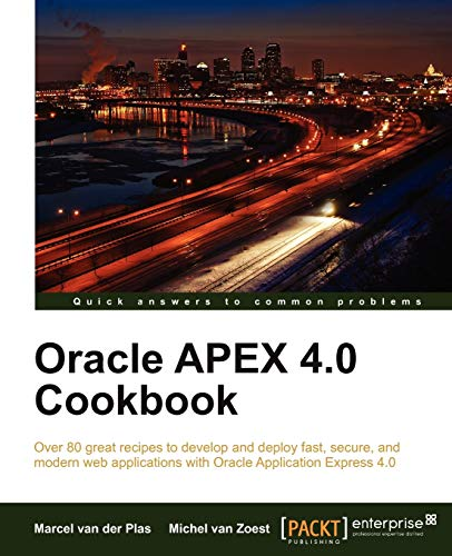 9781849681346: Oracle Apex 4.0 Cookbook