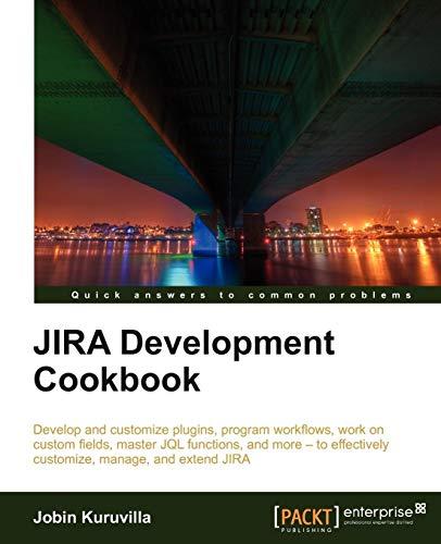 9781849681803: Jira Development Cookbook