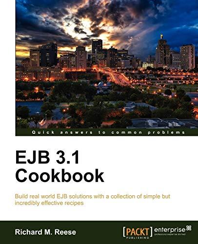 9781849682381: Ejb 3.1 Cookbook