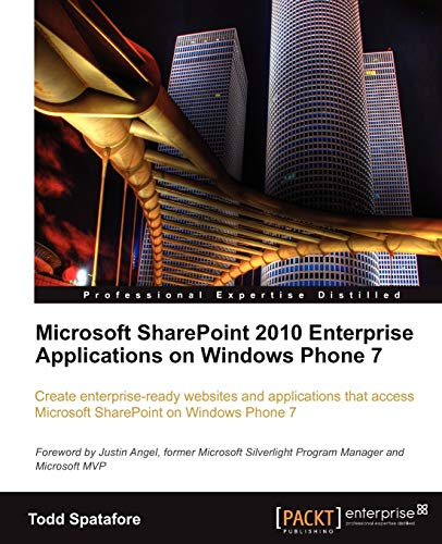 9781849682589: Microsoft SharePoint 2010 Enterprise Applications on Windows Phone 7