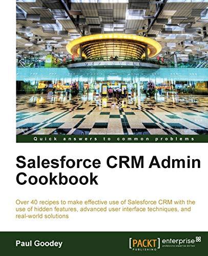 9781849684248: Salesforce CRM Admin Cookbook