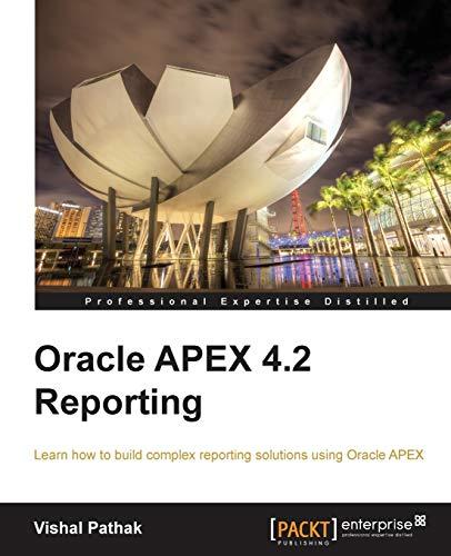 9781849684989: Oracle APEX 4.2 Reporting