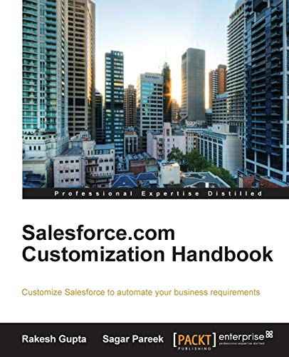 9781849685986: Salesforce.com Customization Handbook