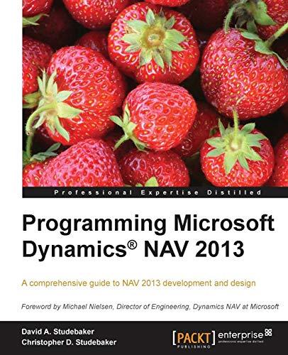9781849686488: Programming Microsoft Dynamics Nav 2013