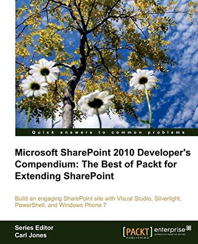 9781849686808: Microsoft SharePoint 2010 Developer's Compendium: The Best of Packt for Extending SharePoint