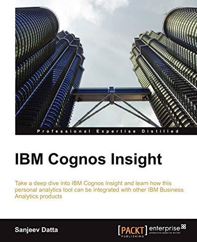 IBM Cognos Insight: Sanjeev Datta