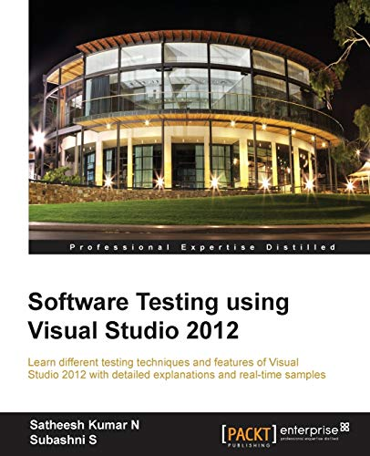 9781849689540: Software Testing Using Visual Studio 2012