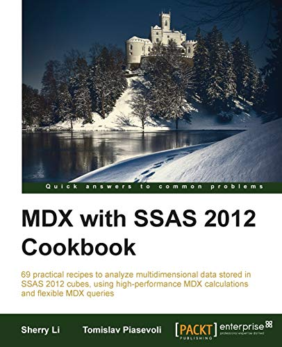 9781849689601: MDX with SSAS 2012 Cookbook