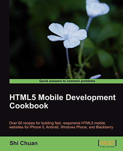 9781849691963: HTML5 Mobile Development Cookbook