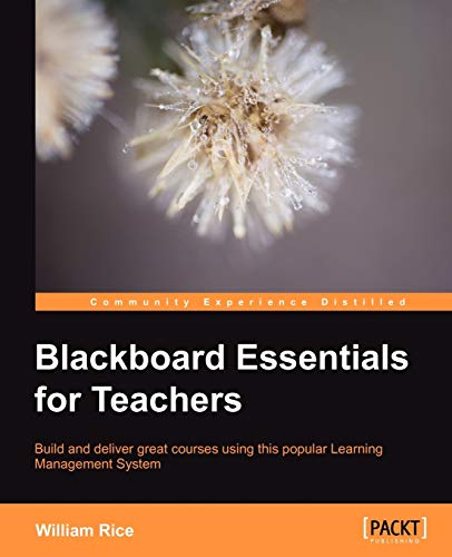 9781849692922: Blackboard Essentials for Teachers