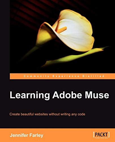 9781849693141: Learning Adobe Muse