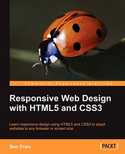9781849693189: Responsive Web Design with HTML5 and CSS3