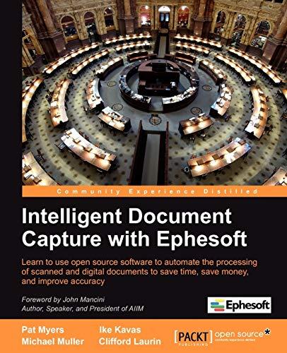 9781849693721: Intelligent Document Capture with Ephesoft