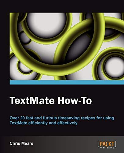 9781849693981: TextMate How-To