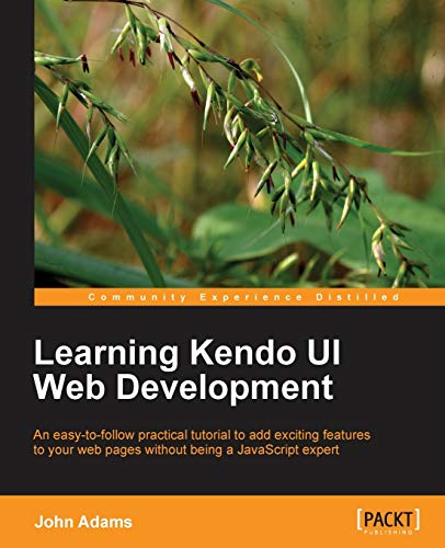 9781849694346: Learning Kendo Ui Web Development