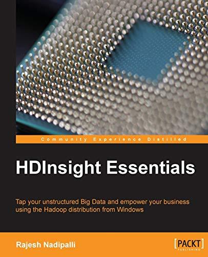 9781849695367: HDInsight Essentials
