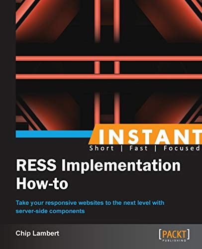 9781849696920: Instant RESS Implementation How-to