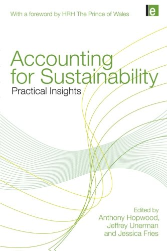9781849710671: Accounting for Sustainability: Practical Insights
