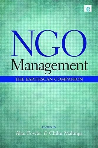 9781849711203: NGO Management: The Earthscan Companion