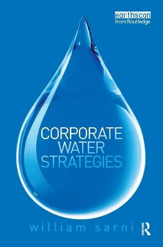 Corporate Water Strategies: Sarni, William