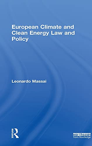 9781849712033: European Climate and Clean Energy Law and Policy