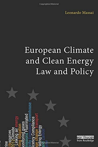 9781849712040: European Climate and Clean Energy Law and Policy