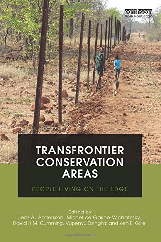9781849712088: Transfrontier Conservation Areas: People Living on the Edge