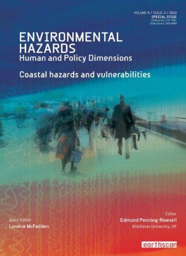 9781849712118: Coastal Hazards and Vulnerability (Environmental Hazards Series)