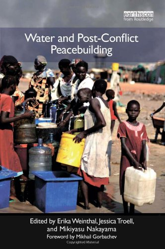 9781849712323: Water and Post-Conflict Peacebuilding (Post-Conflict Peacebuilding and Natural Resource Management)