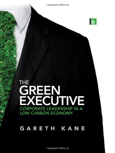 The Green Executive: Corporate Leadership in a Low Carbon Economy: Kane, Gareth