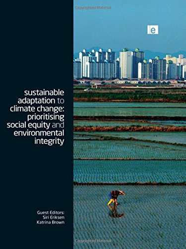 Sustainable Adaptation to Climate Change: Prioritising Social Equity and Environmental Integrity (...