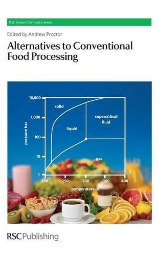 Alternatives To Conventional Food Processing (Rsc Green Chemistry)