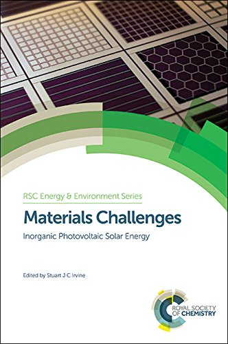 9781849731874: Materials Challenges: Inorganic Photovoltaic Solar Energy (Energy and Environment Series)