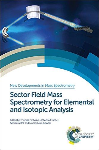 9781849733922: Sector Field Mass Spectrometry for Inorganic Analysis (New Developments in Mass Spectrometry)