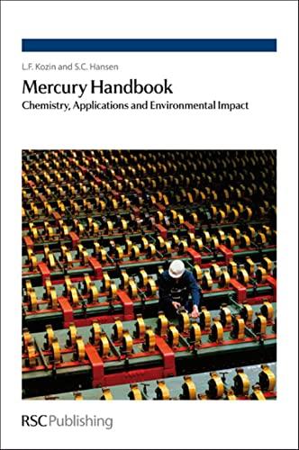 9781849734097: Mercury Handbook: Chemistry, Applications and Environmental Impact
