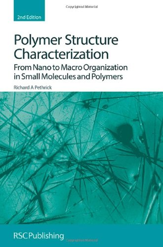 9781849734332: Polymer Structure Characterization: From Nano to Macro Organization in Small Molecules and Polymers