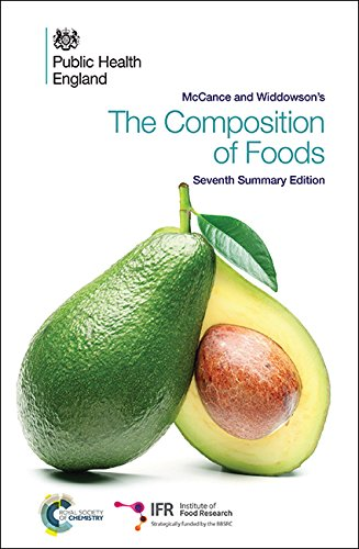 McCance and Widdowson's the Composition of Foods: Seventh Summary Edition: Food Standard ...
