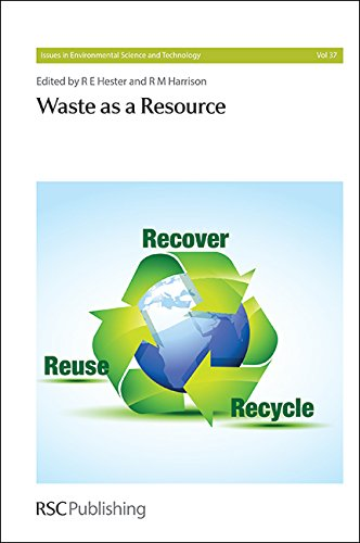9781849736688: Waste as a Resource: RSC (Issues in Environmental Science and Technology)
