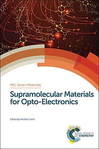 9781849738262: Supramolecular Materials for Opto-Electronics (Smart Materials Series)