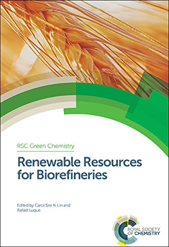 9781849738989: Renewable Resources for Biorefineries: RSC (Green Chemistry Series)