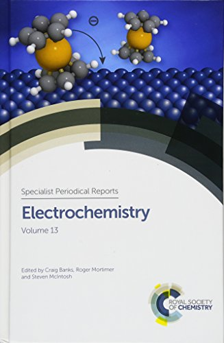 9781849739801: Electrochemistry: Volume 13 (Specialist Periodical Reports)