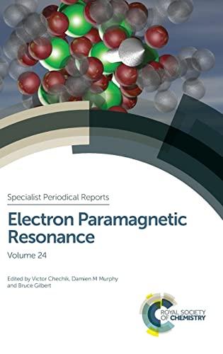 Electron Paramagnetic Resonance (Hardback)