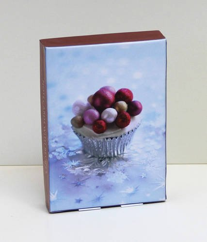 Christmas Cupcakes Classic Notecards (Christmas Delights)