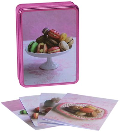 Macarons Notecards With Recipes (9781849751728) by Ryland Peters & Small