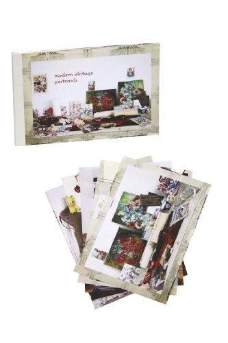 9781849752398: Modern Vintage Postcard Book 10 Pack