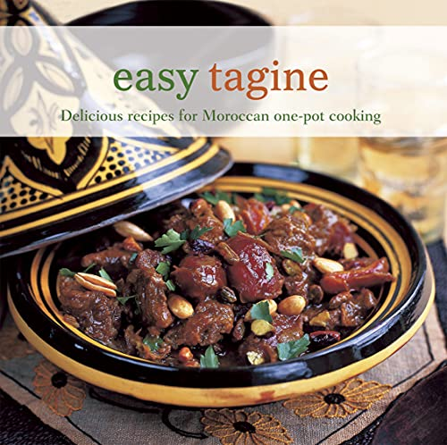 Easy Tagine: Delicious Recipes for Moroccan One-Pot Cooking 9781849752541 In this collection of aromatic tagines, salads, side dishes and sweet things, you'll be sure to find best-loved classics from the Moroccan kitchen. Traditional Lamb Tagines provides winning combinations of sumptuous flavours such as Lamb Tagine with Prunes, Apricots and Honey. Beef, Kefta and Sausage Tagines includes options such as Chorizo Tagine with Lentils and Fenugreek. Chicken and Duck Tagines are delicious cooked with plenty of spice. Try a Duck Tagine with Pears and Cinnamon. Exciting Fish and Seafood Tagines include Tagine of Monkfish, Potatoes, Cherry Tomatoes and Black Olives. Vegetable Tagines are brought to life with warm and tasty spices. Try a Tagine of Artichokes, Potatoes and Saffron. Traditional Couscous Dishes are perfect for a dinner party. Try a Fish and Shellfish K'dra with Couscous. Roasts and Pan Fries are also delicious made with Moroccan spices. Try Char-grilled Quails with Kumquats. Find the perfect accompaniment with Vegetable Side Dishes such as Honey-glazed Pumpkin with Spices. Soups and Small Bites contains great appetizers and snacks. Try a Rustic Tomato and Vegetable Soup with Ras-el-hanout. Finally, Sweet Things and Drinks will make the perfect finishing touch to any Moroccan menu. Try Fresh Figs with Walnuts and Honey or a refreshing Mint Tea.