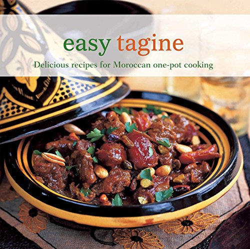 Easy Tagine: Delicious recipes for Moroccan one-pot cooking 9781849752831 In this collection of aromatic tagines, salads, side dishes and sweet things, you'll be sure to find best-loved classics from the Moroccan kitchen. Traditional Lamb Tagines provides winning combinations of sumptuous flavours such as Lamb Tagine with Prunes, Apricots and Honey. Beef, Kefta and Sausage Tagines includes options such as Chorizo Tagine with Lentils and Fenugreek. Chicken and Duck Tagines are delicious cooked with plenty of spice. Try a Duck Tagine with Pears and Cinnamon. Exciting Fish and Seafood Tagines include Tagine of Monkfish, Potatoes, Cherry Tomatoes and Black Olives. Vegetable Tagines are brought to life with warm and tasty spices. Try a Tagine of Artichokes, Potatoes and Saffron. Traditional Couscous Dishes are perfect for a dinner party. Try a Fish and Shellfish K'dra with Couscous. Roasts and Pan Fries are also delicious made with Moroccan spices. Try Char-grilled Quails with Kumquats. Find the perfect accompaniment with Vegetable Side Dishes such as Honey-glazed Pumpkin with Spices. Soups and Small Bites contains great appetizers and snacks. Try a Rustic Tomato and Vegetable Soup with Ras-el-hanout. Finally, Sweet Things and Drinks will make the perfect finishing touch to any Moroccan menu. Try Fresh Figs with Walnuts and Honey or a refreshing Mint Tea.