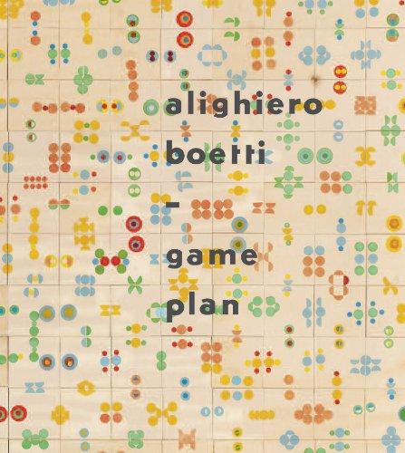 9781849760089: Alighiero Boetti: Game Plan